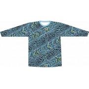 Camiseta Proteção UV Listrado Animal