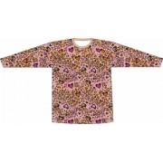 Camiseta Proteção UV Onça Apaixonada Rosa
