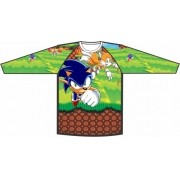 Camiseta Proteção UV Sonic Colors
