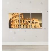 Quadro Placas Coliseu - 8 peças