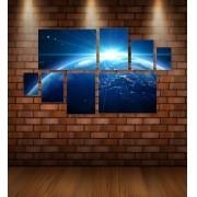 Quadro Placas Terra - 8 peças