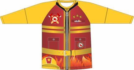 Camiseta Proteção UV Bombeiro
