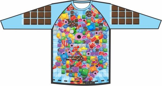 Camiseta Candy Colors