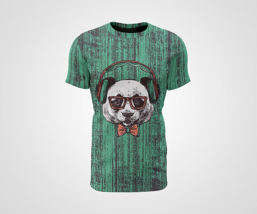 Camiseta Dry - Panda Hipster