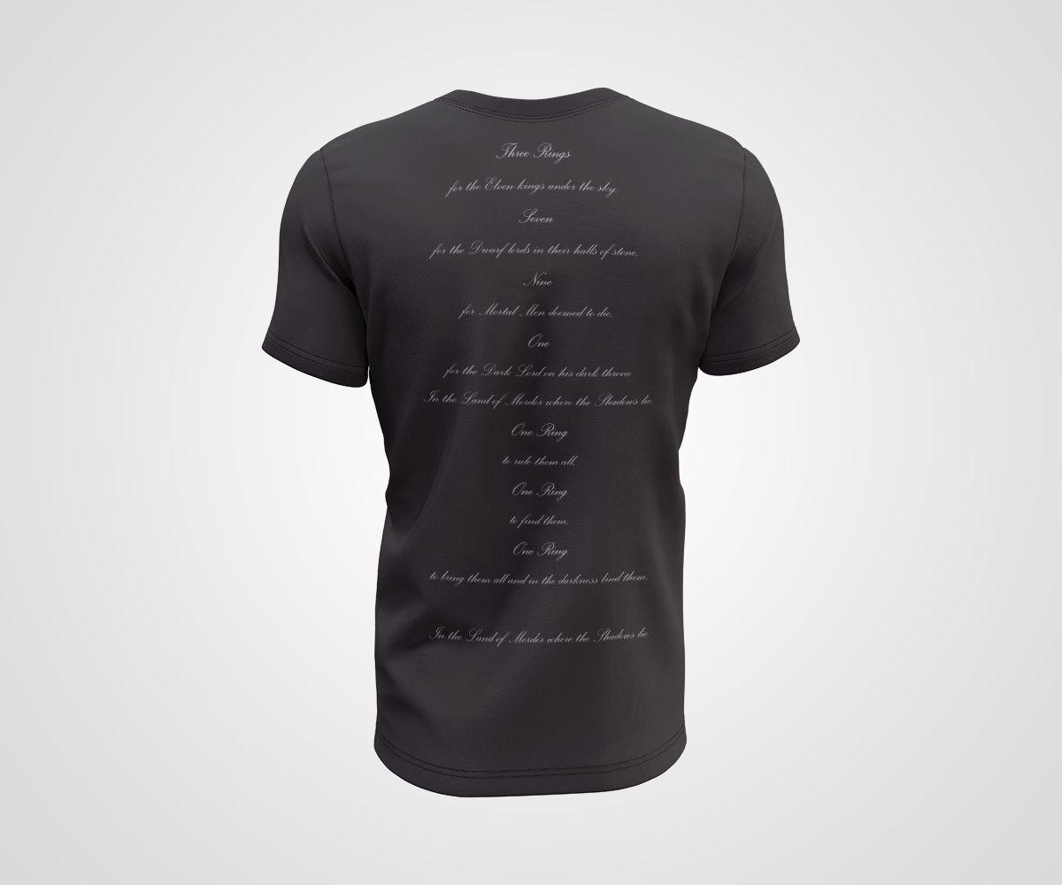 Camiseta Dry - Senhor dos Anéis - Sauron