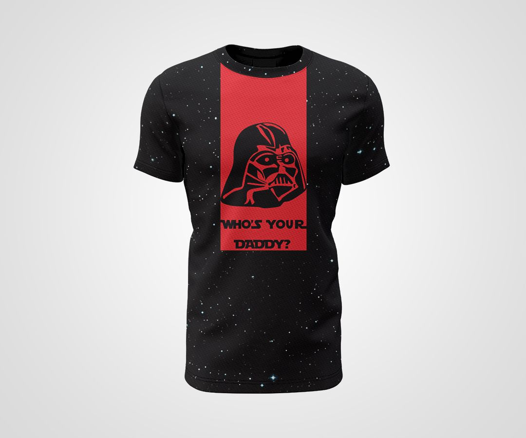 Camiseta Dry - Star Wars Daddy Vader