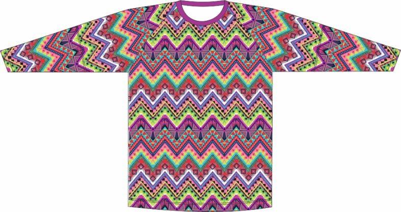 Camiseta Proteção UV Geometrico 02
