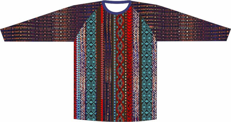 Camiseta geometrico 10