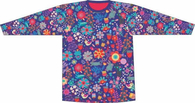 Camiseta Proteção UV Maria Gabriela