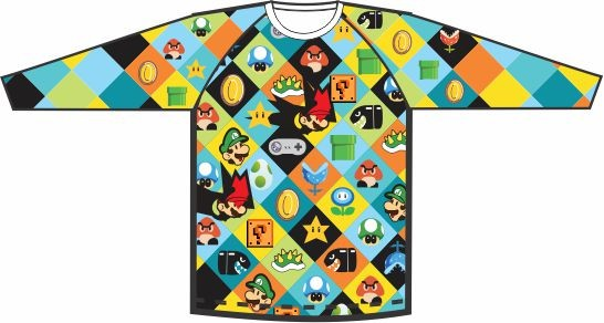 Camiseta Mario Colors 02