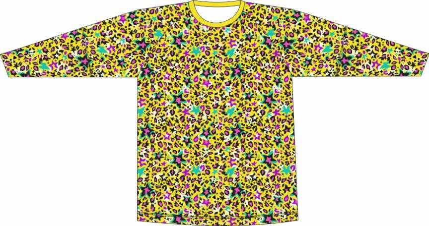 Camiseta Proteção UV Onça Estrelada