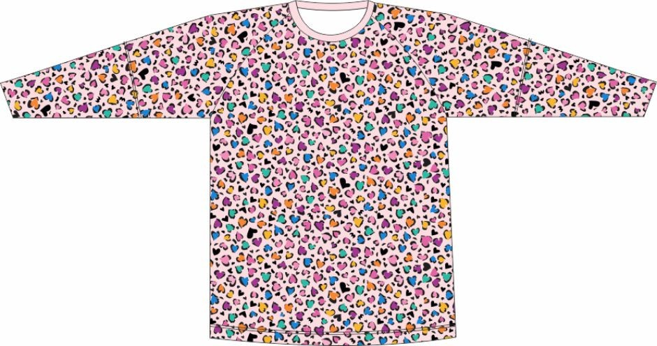 Camiseta Proteção UV Oncinha Rosa