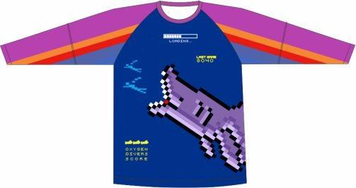 Camiseta Proteção UV Seaquest