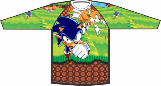 Camiseta Sonic Colors