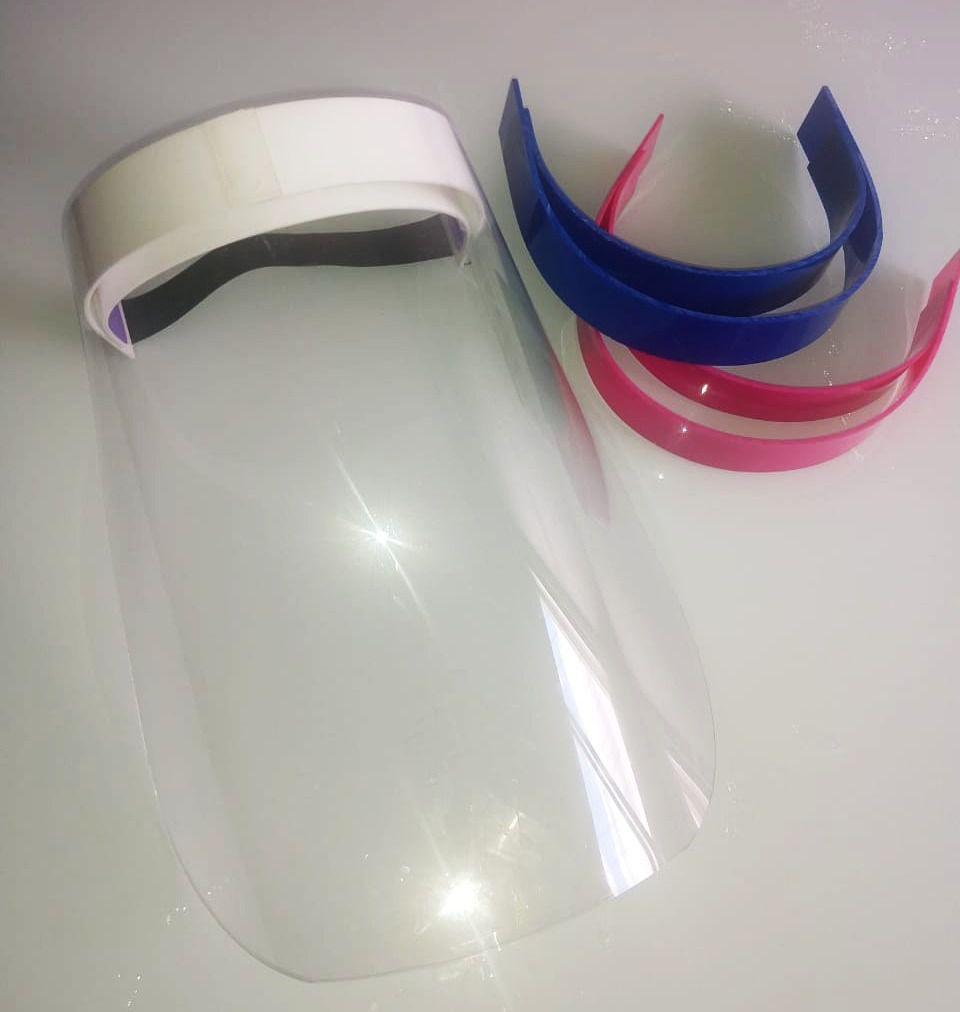 Máscara Face Shield - Kit 3 Unidades - R$27,00/Un