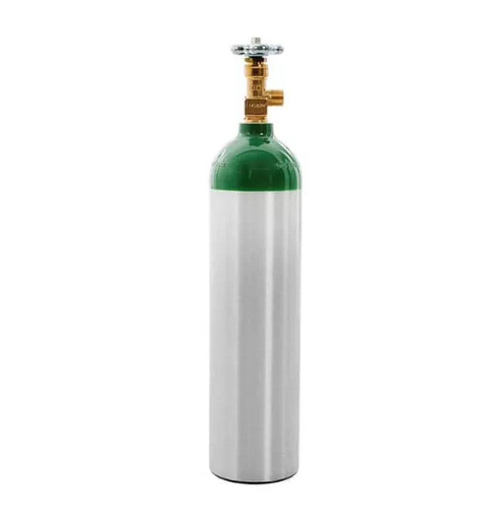 Cilindro de Oxigênio em Alumínio 1 Litro M6