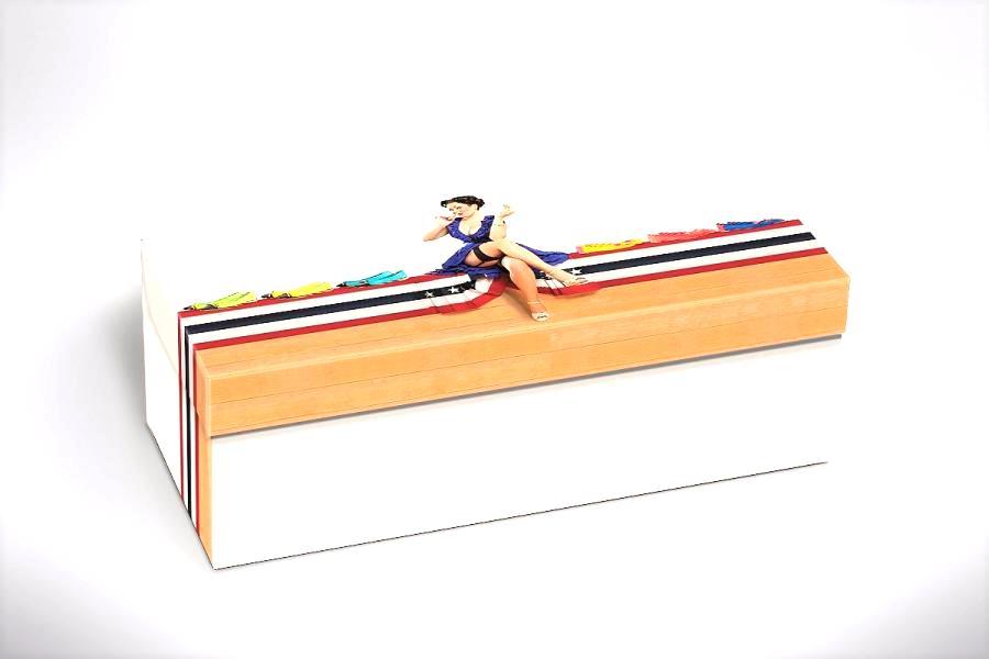 100 caixas adulto - 28 X 12 cm