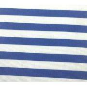Tecido Panamá - Listrado Azul