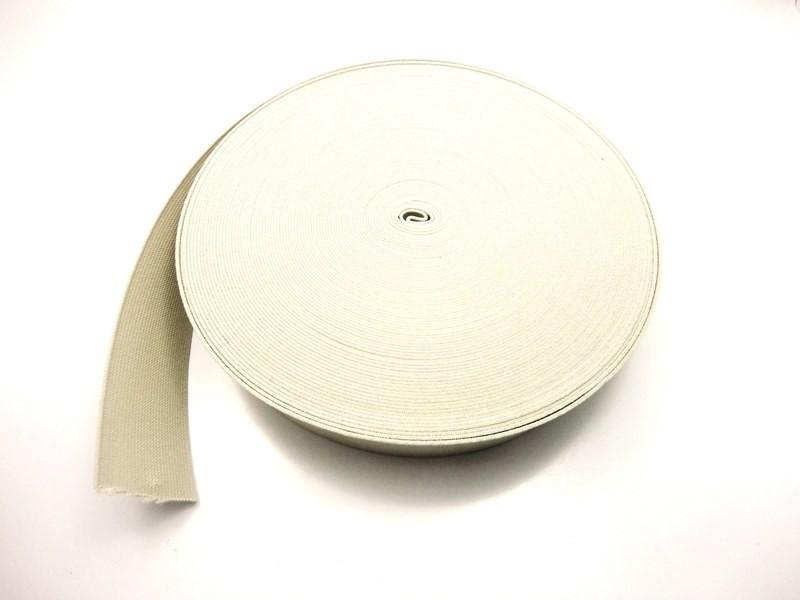 Elástico Bege 50 mm - 1 metro