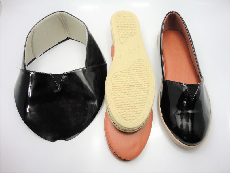 Kit para fabricação de alpargatas - Verniz preto