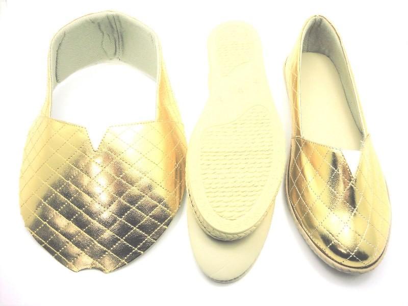 Kit para fabricação de alpargatas - Matelassê ouro