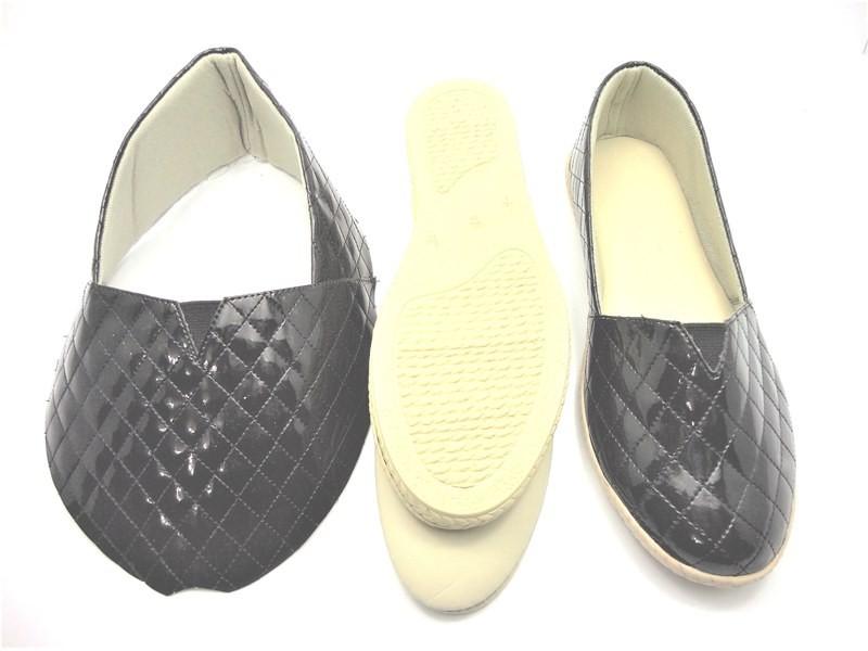 Kit para fabricação de alpargatas - Matelassê preto