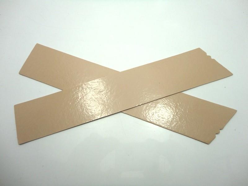 Kit para fabricação de rasteirinhas - X Bege