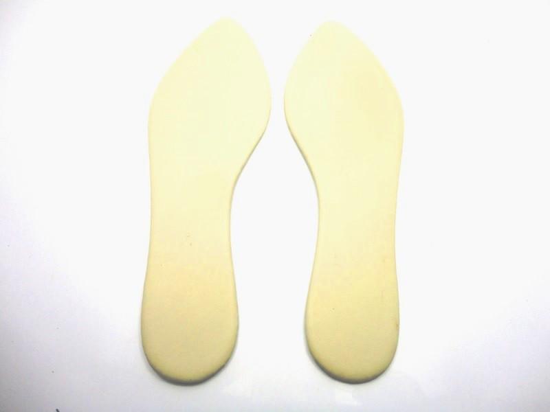 Solado Sapatilha PVC + Palmilha Enfachetada - Grade 15 pares