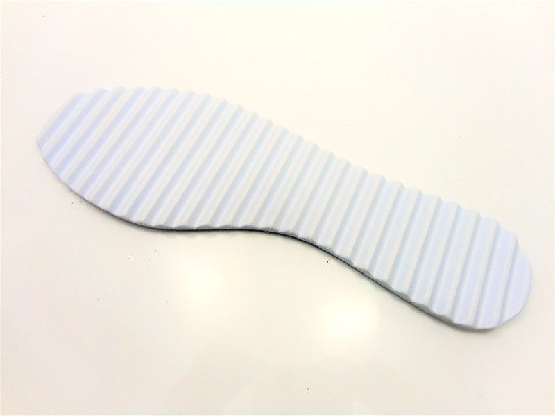 Solado Sapatilha Tratorado - 7 mm