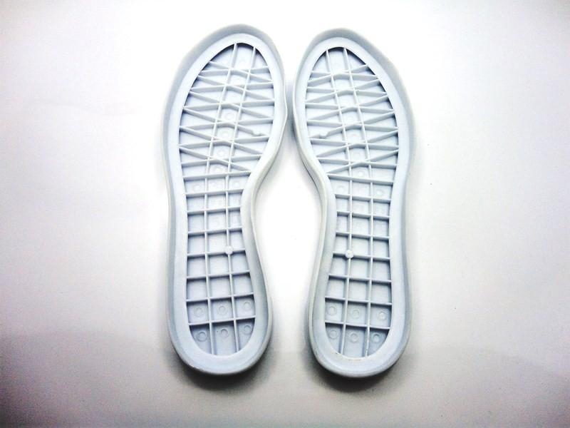 Solado Tênis PVC Gel + Palmilha Confort - Grade 15 pares