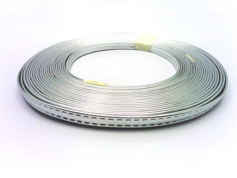 Tiras 9 mm Prata - Rolo 10 metros