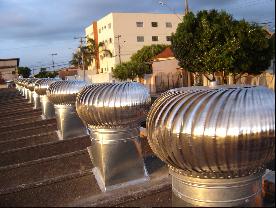 Exaustor eólico  - Galvocalhas