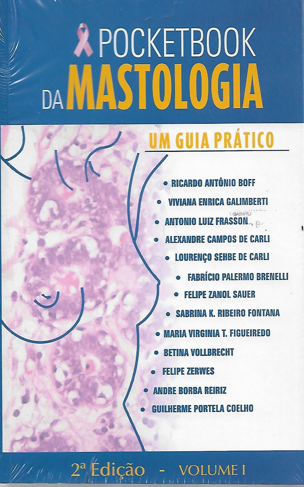 POCKETBOOK DA MASTOLOGIA - VOLUME 1 E 2 - ED. 2019