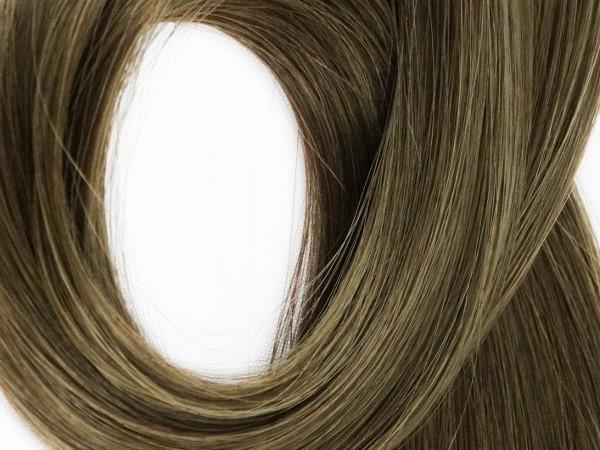 Mega Hair de Fita Adesiva Cor #6 - Castanho Claro