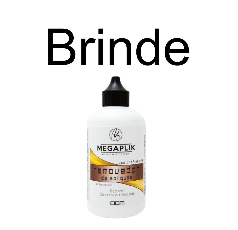 Promoção de 20pç Mega Hair de Fita Adesiva Premium 35cm - Brinde Removedor