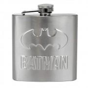 Cantil Aço Inox Batman Logo Prata 170ml
