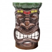 Copo De Ceramica Modelo Tiki Mug Kanaloa 550 ml