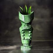 Copo Tiki Mug Mouth Verde Grande 650ml Ceramica