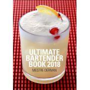 Livro Ultimate Bartender Book 2018 - Receitas e Manual