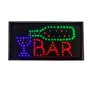 Luminoso Placa de Led BAR - 127Vts