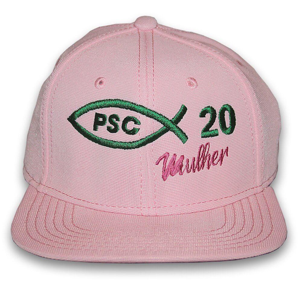Boné Rosa PSC