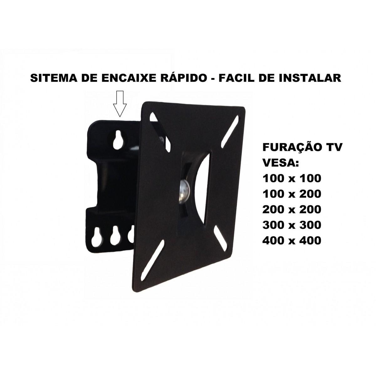 """SUPORTE ARTICULADO PARA TVS DE 10"""" A 55"""" LK006 LK"""