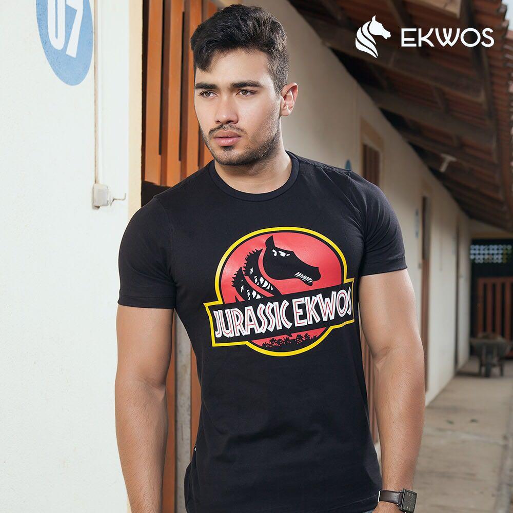 Camiseta Ekwos - Lojas Matos Ranch 1d035730707