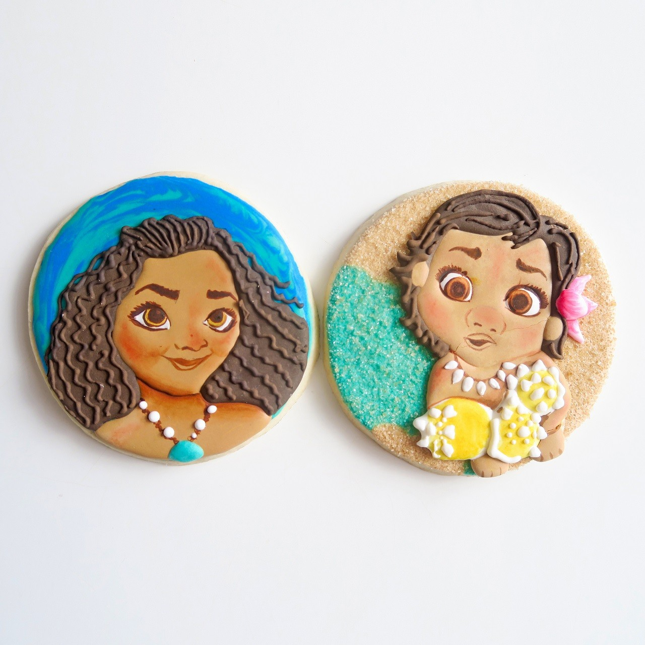 Curso Biscoitos Decorados: Moana