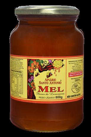 Mel de Flores de Laranjeira Pote 800g