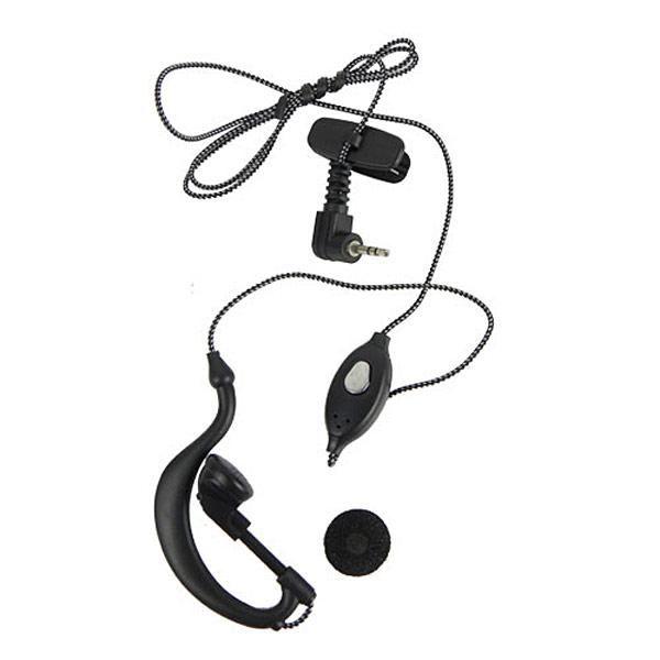 Fone com ptt de lapela e fio de nylon para Walkie Talkie Motorola Talkabout