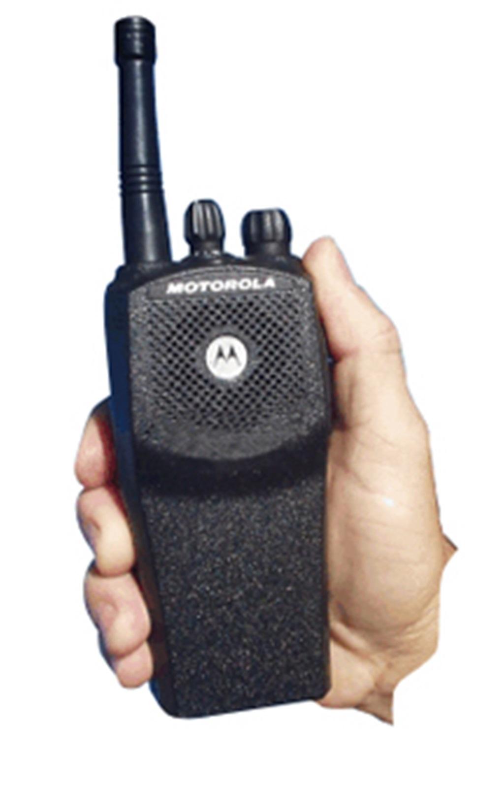 Fone profissional com ptt de lapela e microfone para Motorola EP450 EP150