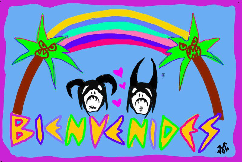 BIENVENIDES - IMPRESSO A4