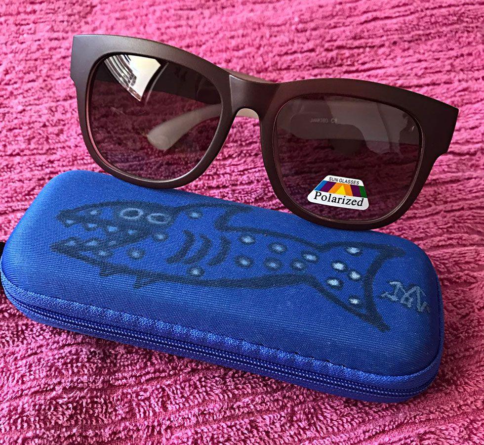 Óculos Marrom palozíssimo 100% styleira do verão