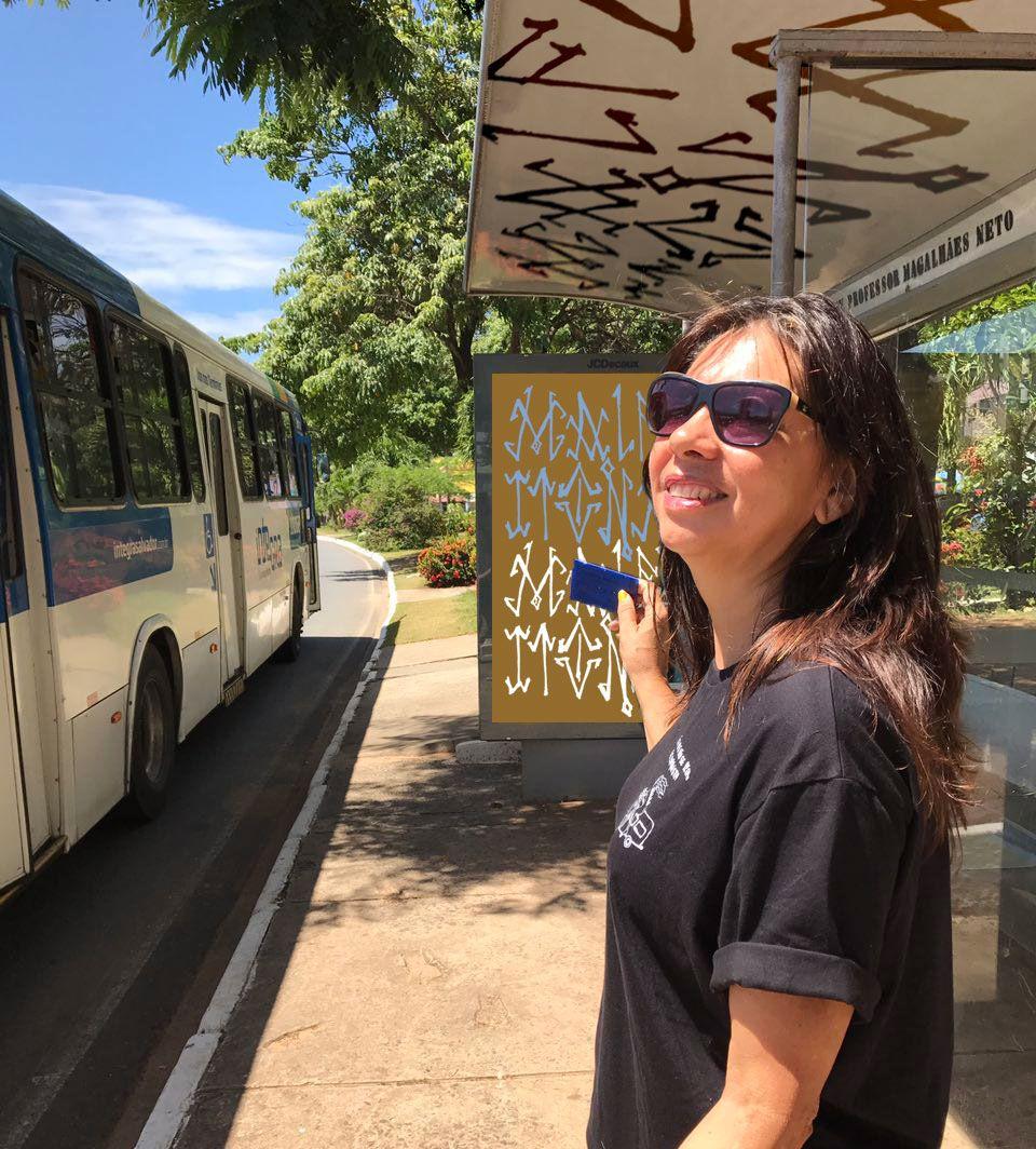 ônibus não se pega, se conquista
